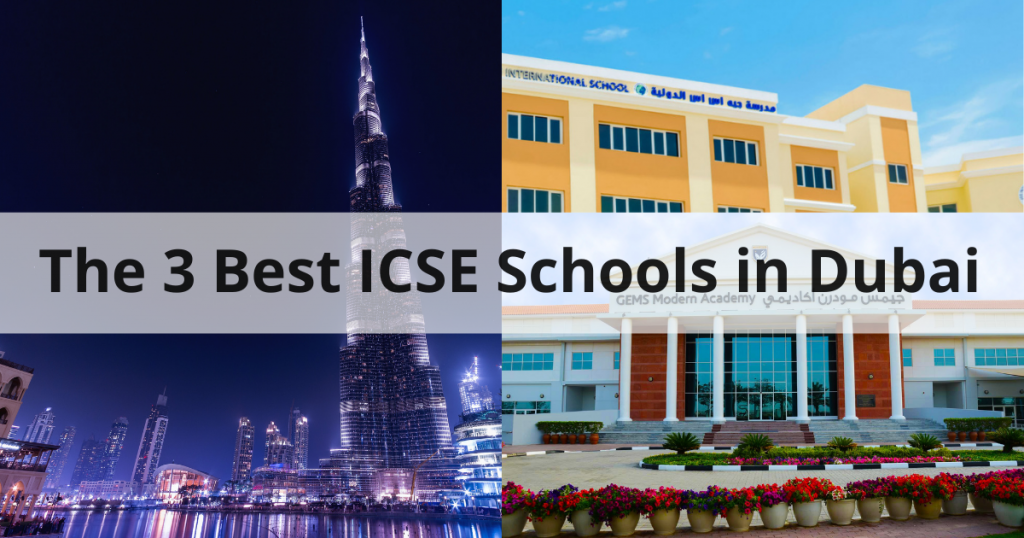 3 Best ICSE Schools in dubai
