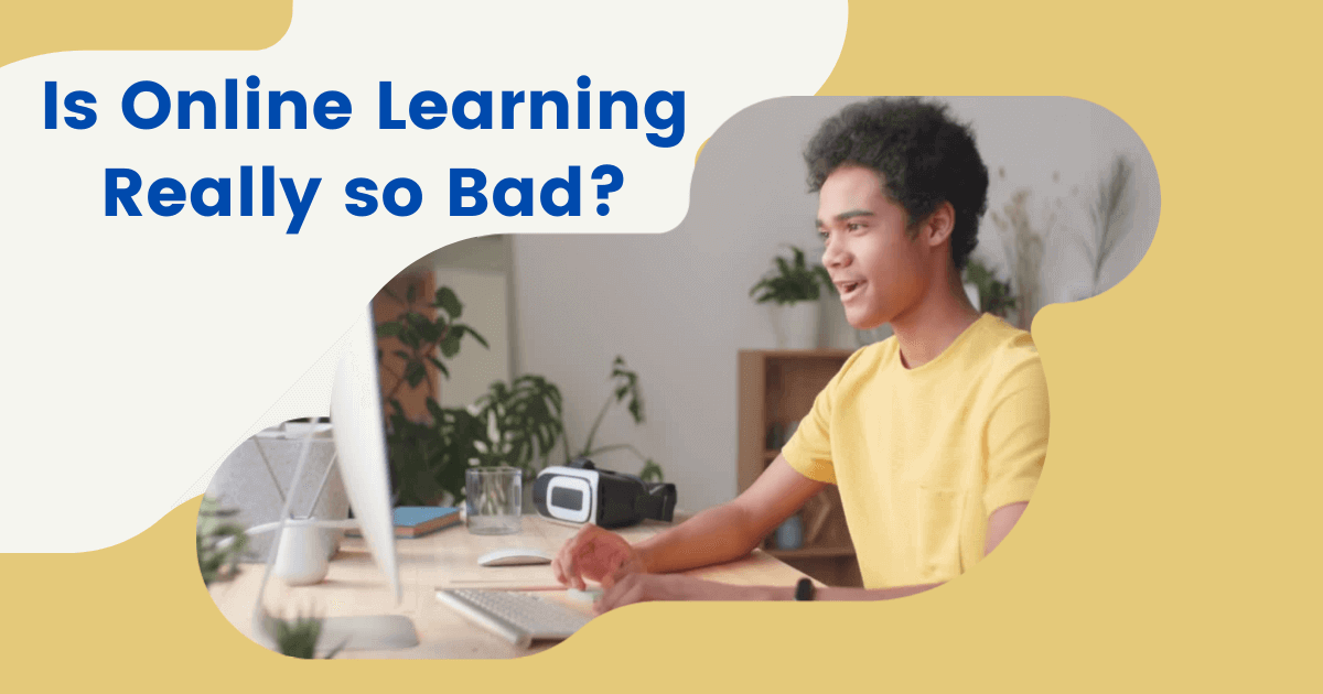 Is online learning bad